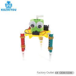 Crianças de 3 em 1 Doodling criativa o Graffiti Elétrico do Robô Desenho Automático de bricolage máquina brinquedo de Educação Científica