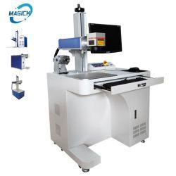 ماكينة علامة ليزر من الألياف بقدرة 50 واط ألوان من الفولاذ المقاوم للصدأ