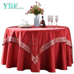 자수 고급 옥외 테이블 천