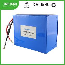 Ionenbatterie-Satz der Speicherbatterie-25.6V 20.0ah zylinderförmiger nachladbarer des Lithium-LiFePO4