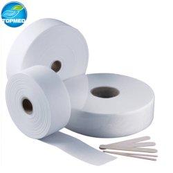 La depilación de las tiras de rollos de toallitas de papel encerado para el rostro brazos piernas