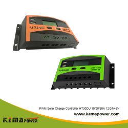 温度修正が付いているHt30du 12/24/48 V 30AMPの太陽エネルギーの調整装置