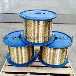 0,3Mm/0,35mm/0,65 mm revestidas de latão fio de aço utilizado na mangueira e escova