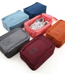 Портативный поездки башмак сумки складные водонепроницаемые чехлы зерноочистки Bag-Double органайзера слой мешок для зерноочистки