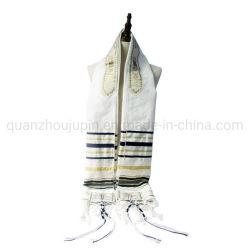Cachecol de cânhamo de algodão de oração pela manhã judaica OEM