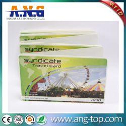 Promoção de fábrica 13.56MHz bilhete NFC RFID CARTÃO NFC papel térmico
