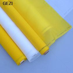 Gezi 8t para 165t 20acoplada ao 420mesh Alta Tensão a impressão de tela de tecido de malha para impressão de seda
