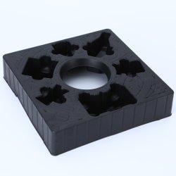 Vassoio Blister In Ps Opaco Nero Per Imballaggio Dei Giocattoli Con Design Personalizzato In Rilievo