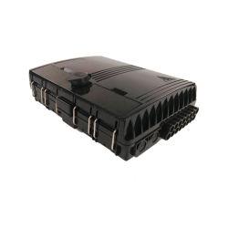 Venta caliente SC/LC/St/FC los conectores de fibra óptica FTTH de montaje en pared Caja de bornes de distribución de FTTH fibra de 16 núcleos de verificación con el módulo PLC el divisor de cable caída