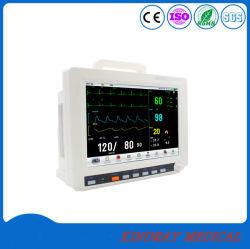 ICU部屋のタッチ画面の医療機器のMulti-Parameterの携帯用忍耐強いモニタ