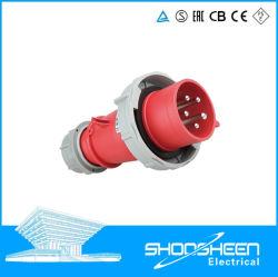spine e zoccoli di potere multifasi impermeabili industriali standard multinazionali di 16A 32A 63A 125A IP67