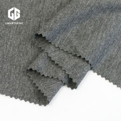 Filato grigio della viscosa del poliestere di uso del tessuto di Roma dello Spandex del Melange di TR