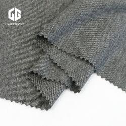 Trの灰色の混合物のスパンデックスのローマファブリック使用ポリエステルViscoseヤーン