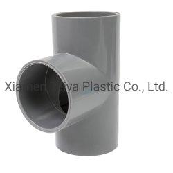 Raccord de tuyau en PVC Tee par 90° pour l'approvisionnement en eau