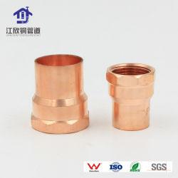 Soldadura de cobre Rosca hembra Adaptador de montaje del tubo de repuesto de la máquina toma