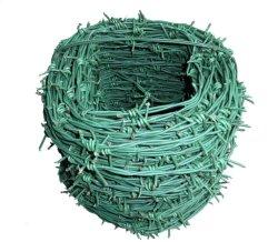 Revestido de PVC médios quente arame galvanizado Arame farpado