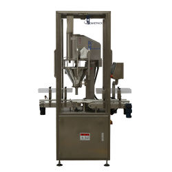 Leche en polvo de Hierbas en Polvo de calcio en la máquina de llenado