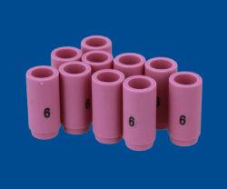 Keramische TIG-Schweißens-Fackel-Düsen Abnützung und Wärme-Temperatur-Widerstand-keramische Düsen