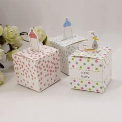 Candy Box douche Bébé garçon Birthday Party parti favorise les dons d'enfants Le baptême des boîtes de décoration