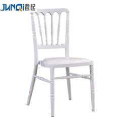 Preço baixo empilháveis moderno Casamento Charivari Cadeira de ferro de aço de metal de alta qualidade Napoleon Chiavari Presidente