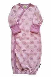 100% algodão Bata Pajama saia do sono adequado do bebé