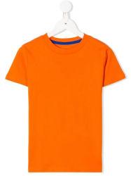 T-shirt van de Kokers van de Hals van de Bemanning van kinderen de Duidelijke Korte