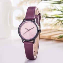 新しいデザイン方法流行の女性手の手首の水晶腕時計Wy-122