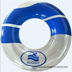 Anillos inflables de la natación del flotador de la piscina del verano con la impresión modificada para requisitos particulares