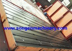 Plate Mill fonte fendu en T/plaques de lit en acier