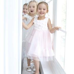 2-10 Kleider der Einjahreskind-Prinzessin-Hochzeitsfest für Sommer
