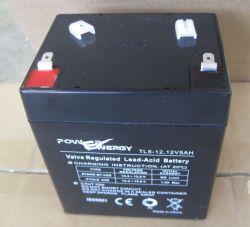 12V 5Ah VRLA Batterie abgedichtete Bleiakku wartungsfrei Batterie Solar Batterie Backup Batterie Sicherheitssystem Batterie Alarmsystem Batterie USV-Batterie