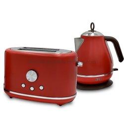 Caldaia dell'acciaio inossidabile di retro colori su ordinazione ed insieme elettrici elettrici del tostapane del pane