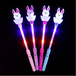 LED-scherzt blinkender Glühen-Stock-Stab-Kaninchen-feenhafter Stab Spielzeug