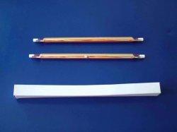 Lampade infrarosse dell'alogeno del tubo del riscaldamento del quarzo del riscaldatore del riflettore rivestito dell'oro di R7s 353mm 2000W
