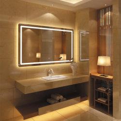 Светится светодиод горит безрамные стене ванной комнаты зеркала мебель Китая производителя