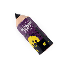 Forme de crayon Kids Cake Pop Candy Box Lollipop Emballage pour l'Halloween