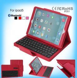 Het Toetsenbord van Bluetooth van het Geval van de tablet met de Dekking van het Geval voor iPad 5 van Fabriek