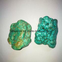 De semi Gift van het Ornament van de Steen Stablized van de Edelsteen Blauwe Turkooise Natuurlijke Ruwe