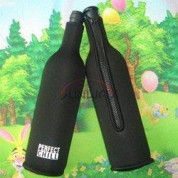 Le néoprène taille personnalisée isolés vin bière boisson Refroidisseur de bouteille de champagne (BC0006)
