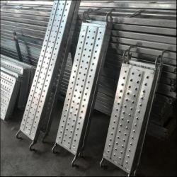 Поставки оцинкованного сооружением крюк доски со стальными панелями ходьбы от ПК