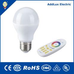 Saso CB ul distributeur 7W Ampoule LED à distance sans fil fabriqués en Chine pour Office, Restaurant, Showroom, vivant, Kithchen, lit, salle à manger de l'éclairage intérieur