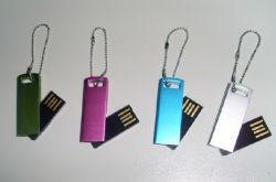 Mini-lecteur Flash USB colorés (OM-P348)