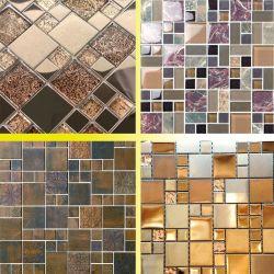 Bandeja de vidro vidro Forno de produção do mosaico de vidro