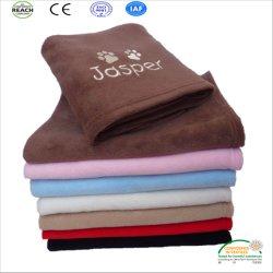 Настроить вышивка полярных флис одеяло на заводе прямой продажи