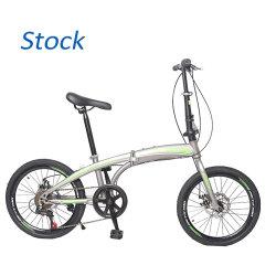 中国の卸し売りFoldableスポーツ7の速度によって折られるプラスチック合金大人のためのサイクルの自転車のバイクを折る16インチ