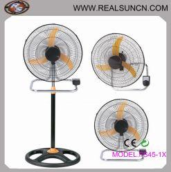 Ventilateur de table, montage mural du ventilateur, ventilateur industriel-3 dans 1 18inch avec lame de l'avertisseur sonore