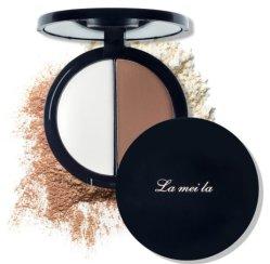 Lameila Polvo facial maquillaje compacto, con buen precio.