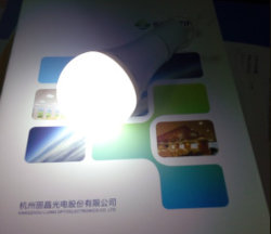 Batería de respaldo de la luz de emergencia LED recargable 7W 9W