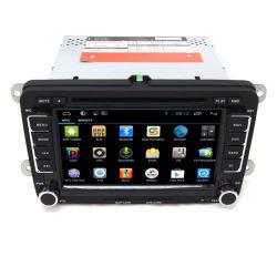 Double DIN no sistema de áudio do GPS DVD carro VW Seat Leon