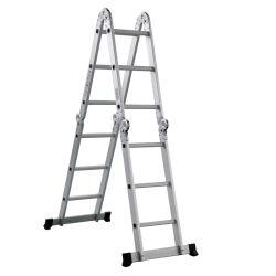Scaletta multiuso di alluminio approvata CE/En131